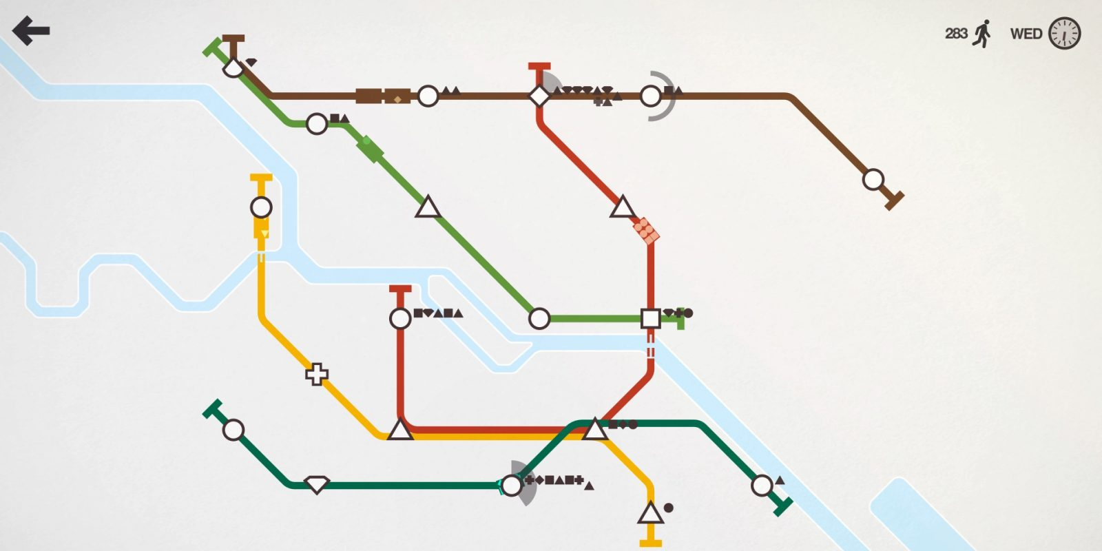 The amazing Mini Metro puzzler hits lowest price in years on iOS: $1 (Reg. $4)