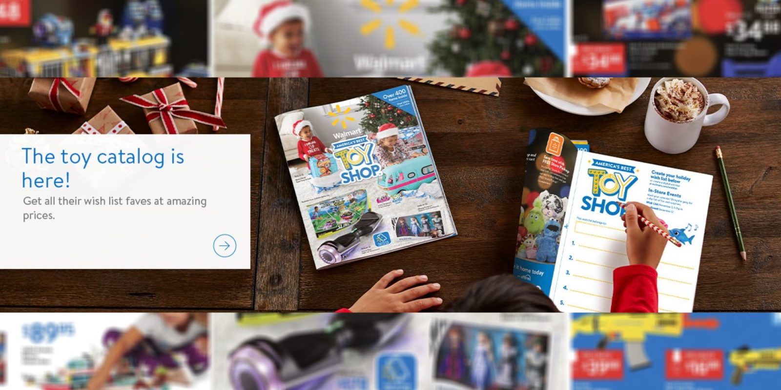 Walmart's toy catalog showcases top holiday gifts, virtual experiences, more