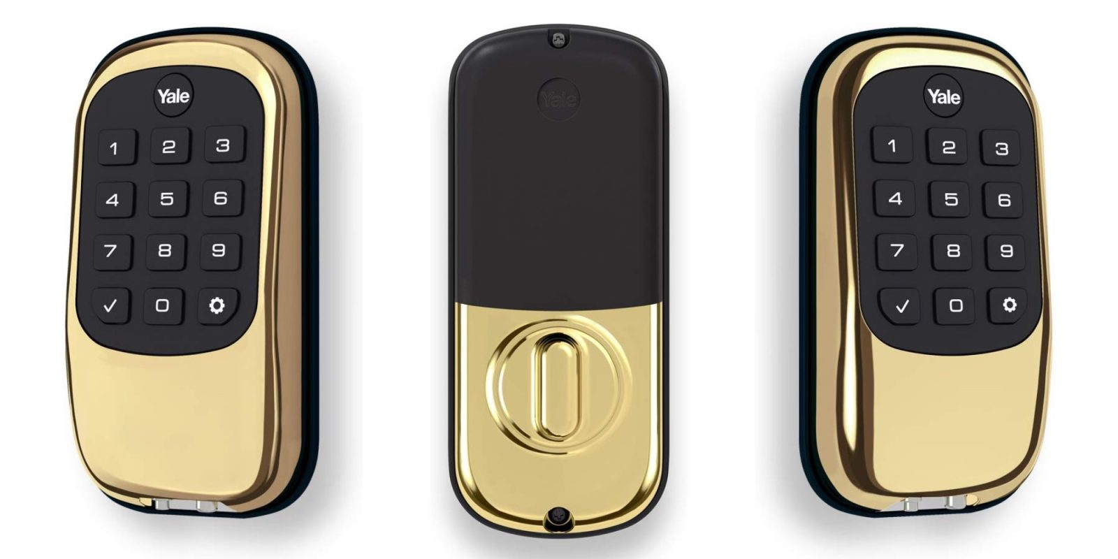 Arm your front door with Yale's Push Button Z-Wave Deadbolt: $103.50 (30% off)