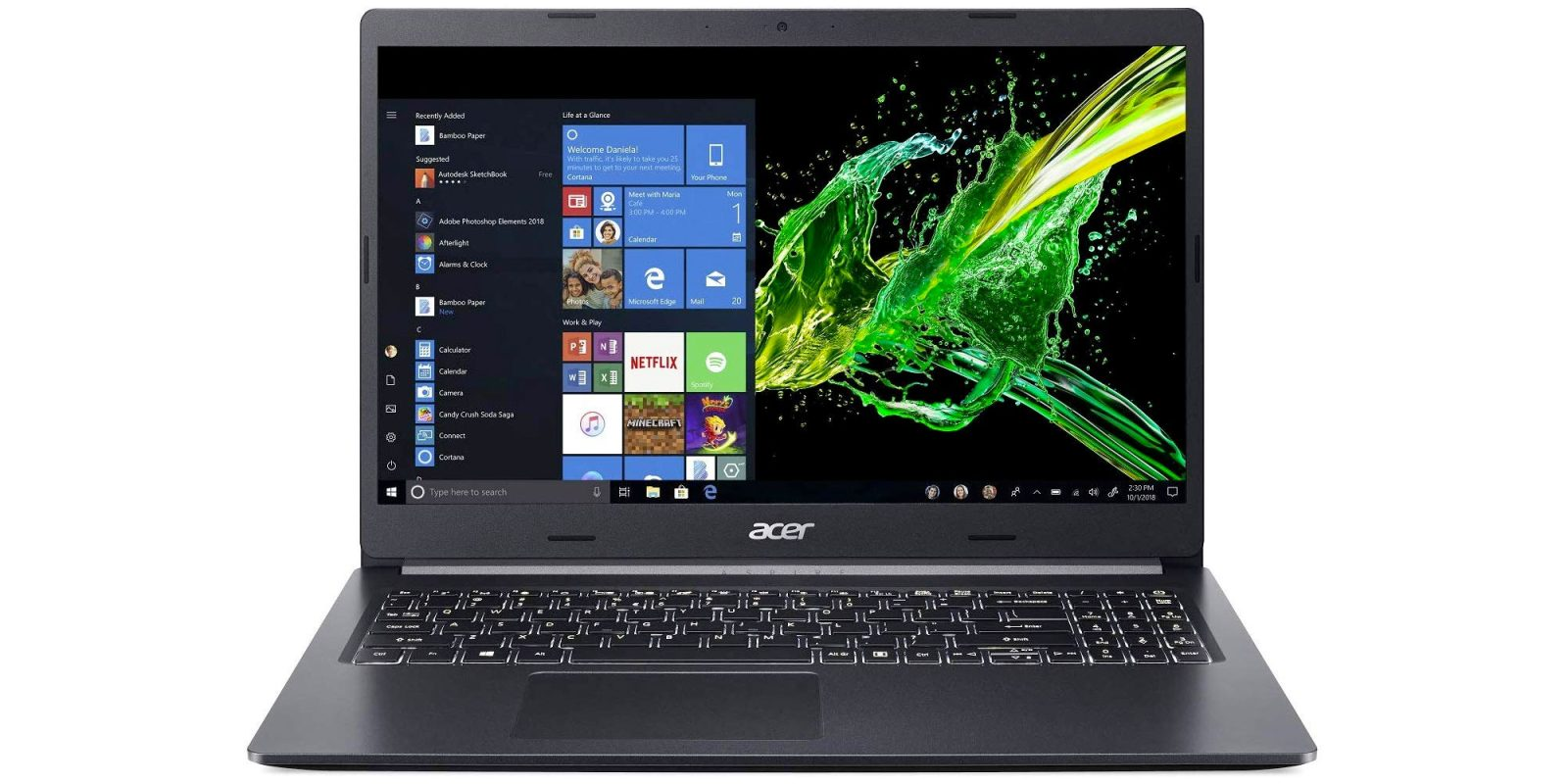 Acer's Aspire 5 Slim has a 512GB SSD + 9.5-hours of battery: $650 (Reg. $800)