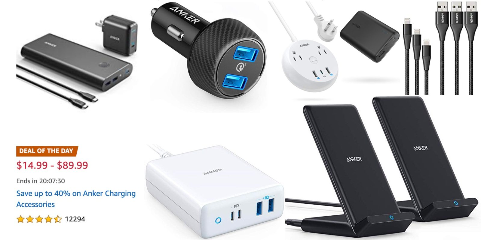 Anker 40% off Gold Box has all your charging needs covered from $15