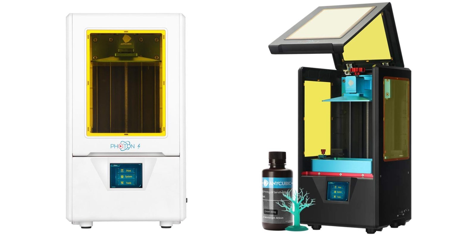 Anycubic's Photon S Resin 3D Printer gets $80 discount to $389 + 20% filament