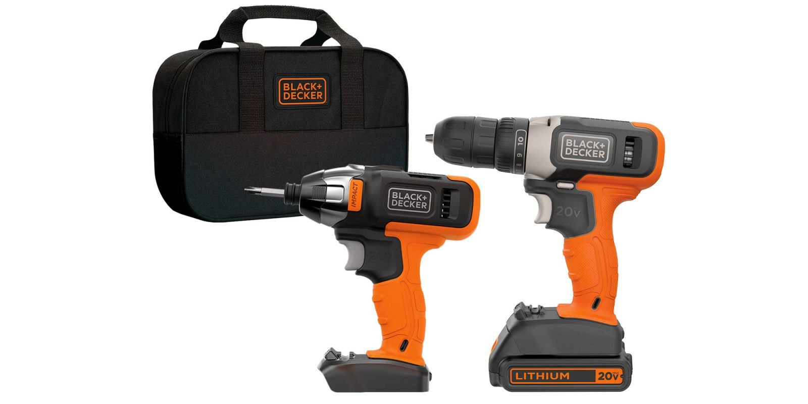 Begin your DIY journey with BLACK+DECKER's 2-tool combo kit at $50 (Reg. $80+)