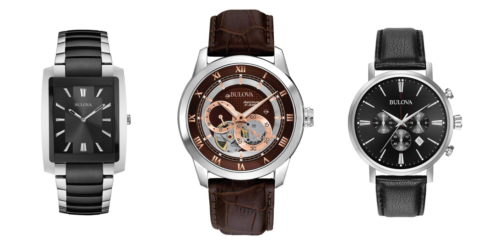 Bulova's stylish $160 watch is movement-powered, more at up to 70% off