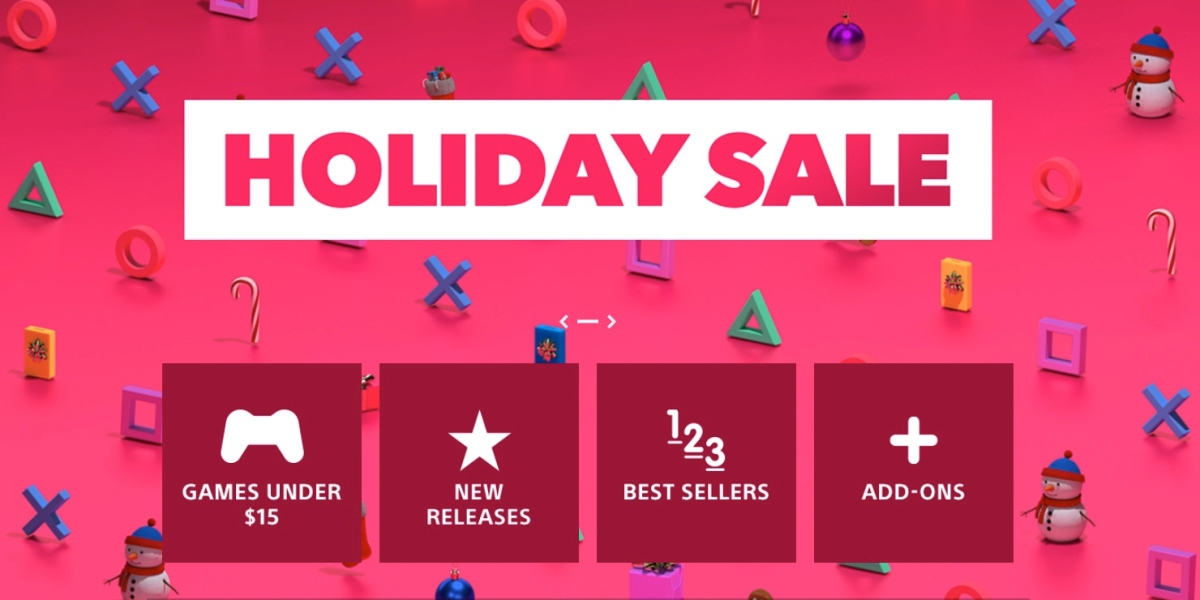 Christmas PlayStation sale now live!