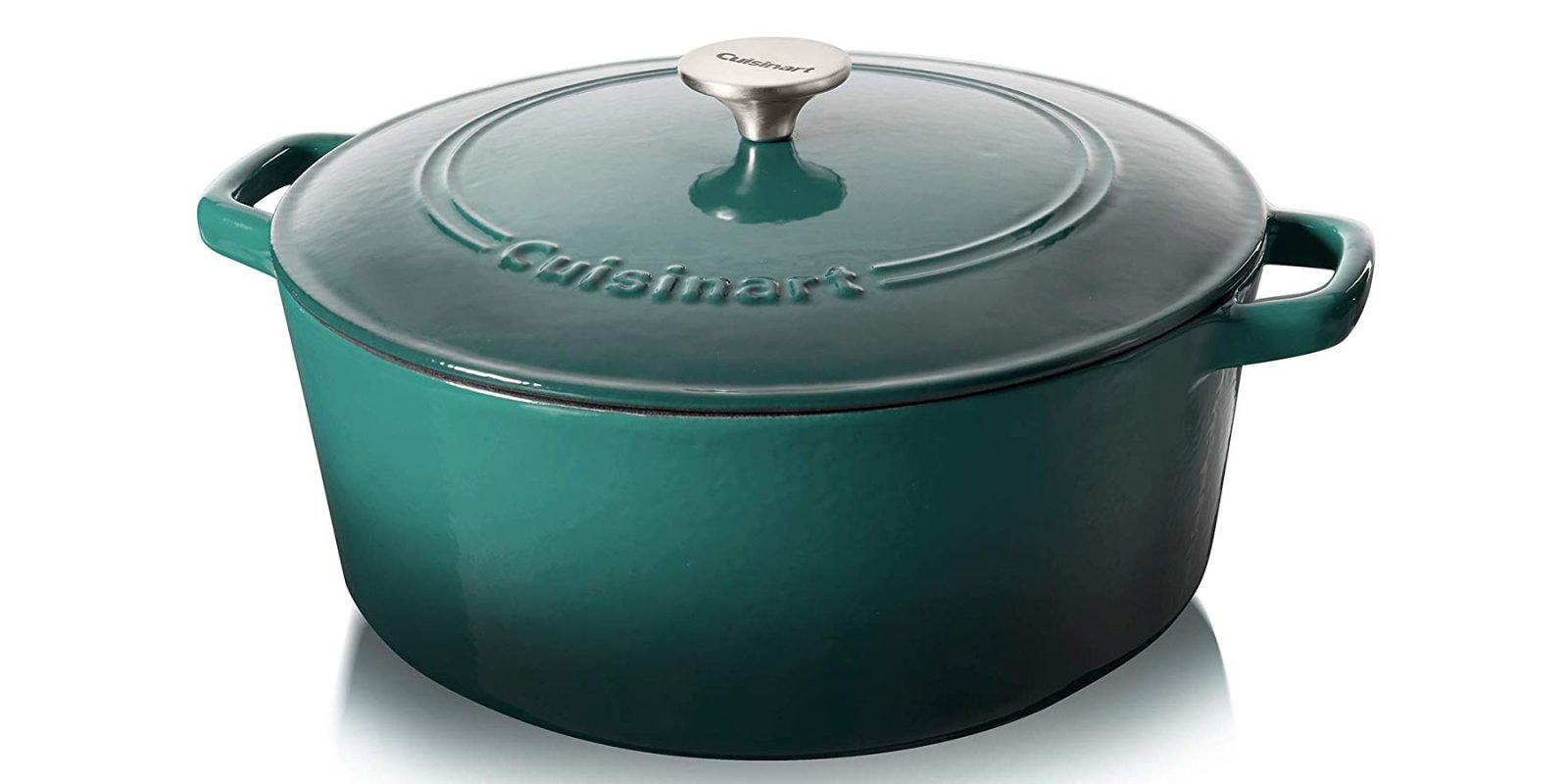 Cuisinart cast iron 7-Qt. round casserole now $60 for today only (Reg. $100+)