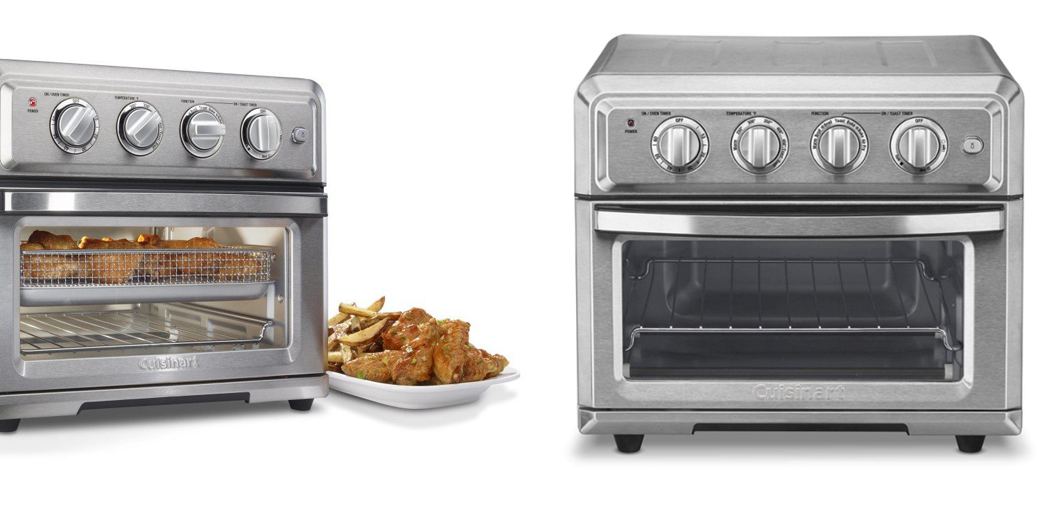 Cuisinart's hybrid Air Fryer Toaster Oven drops to $75 (Refurb, Orig. $200)