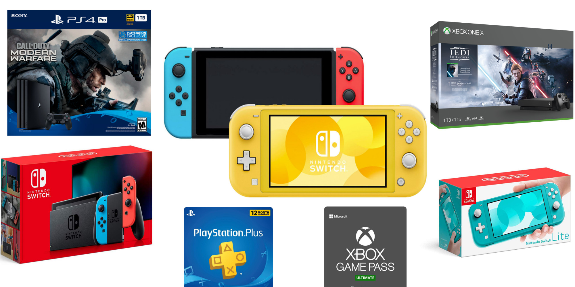 Cyber Monday Console Deals Now Live Switch Lite Ps4 More 9to5toys