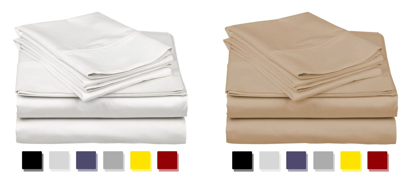 Egyptian cotton sheets at 40% off in today's Amazon Gold Box from $54