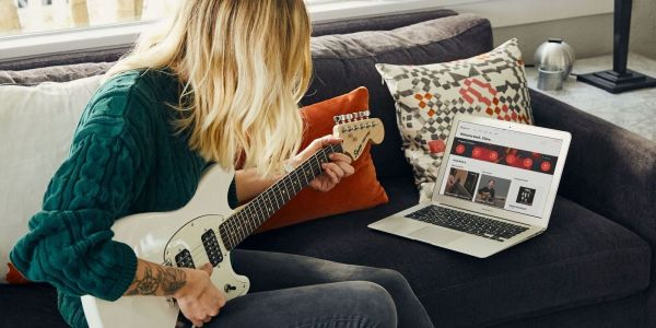 Fender Play for free - free guitar lessons