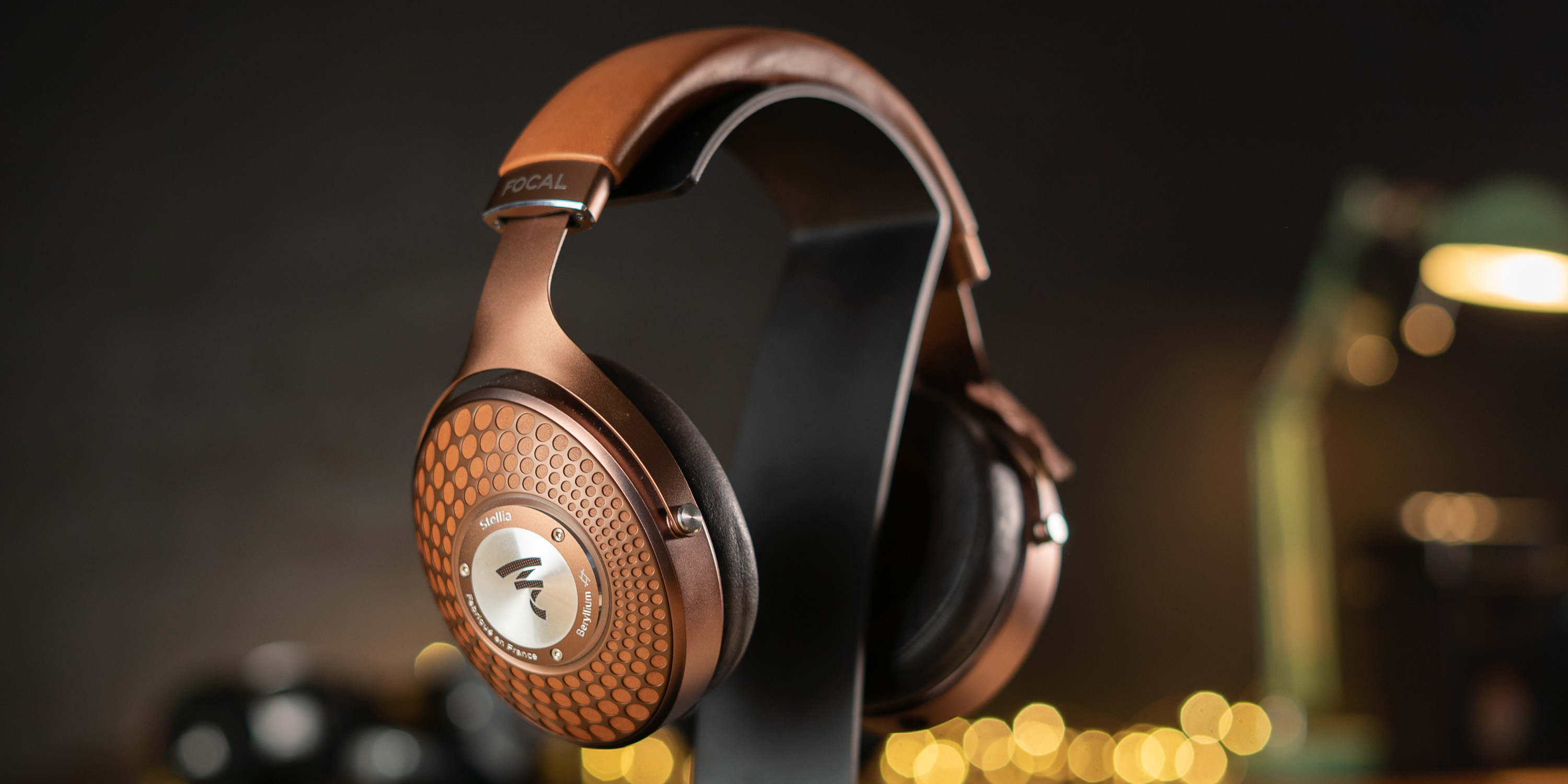 Stellia Hi-Fi Headphones from Focal