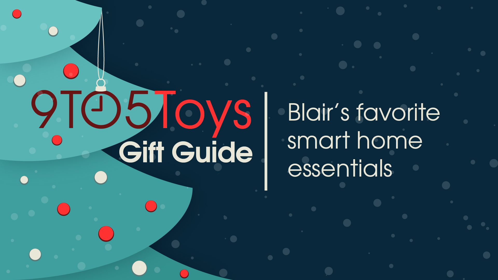 Smart home gift guide