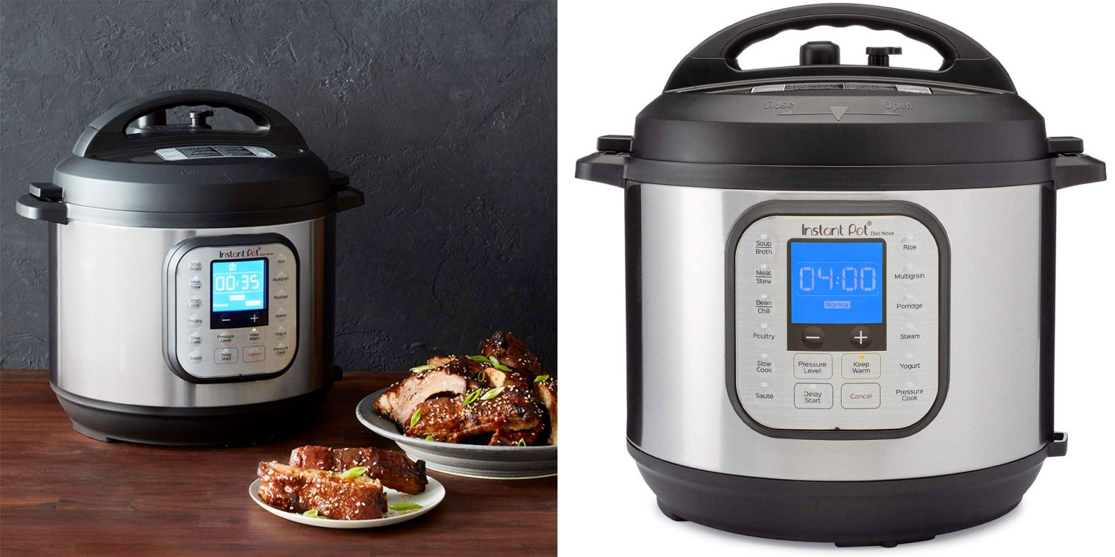 The Instant Pot Duo Nova 6-quart pressure cooker is a Christmas must at $60