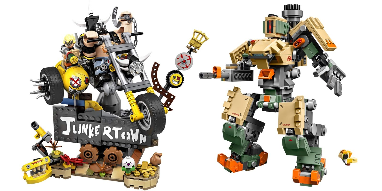 LEGO's Overwatch Junkrat and Roadhog kit is $40 (Save 20%), more from $6