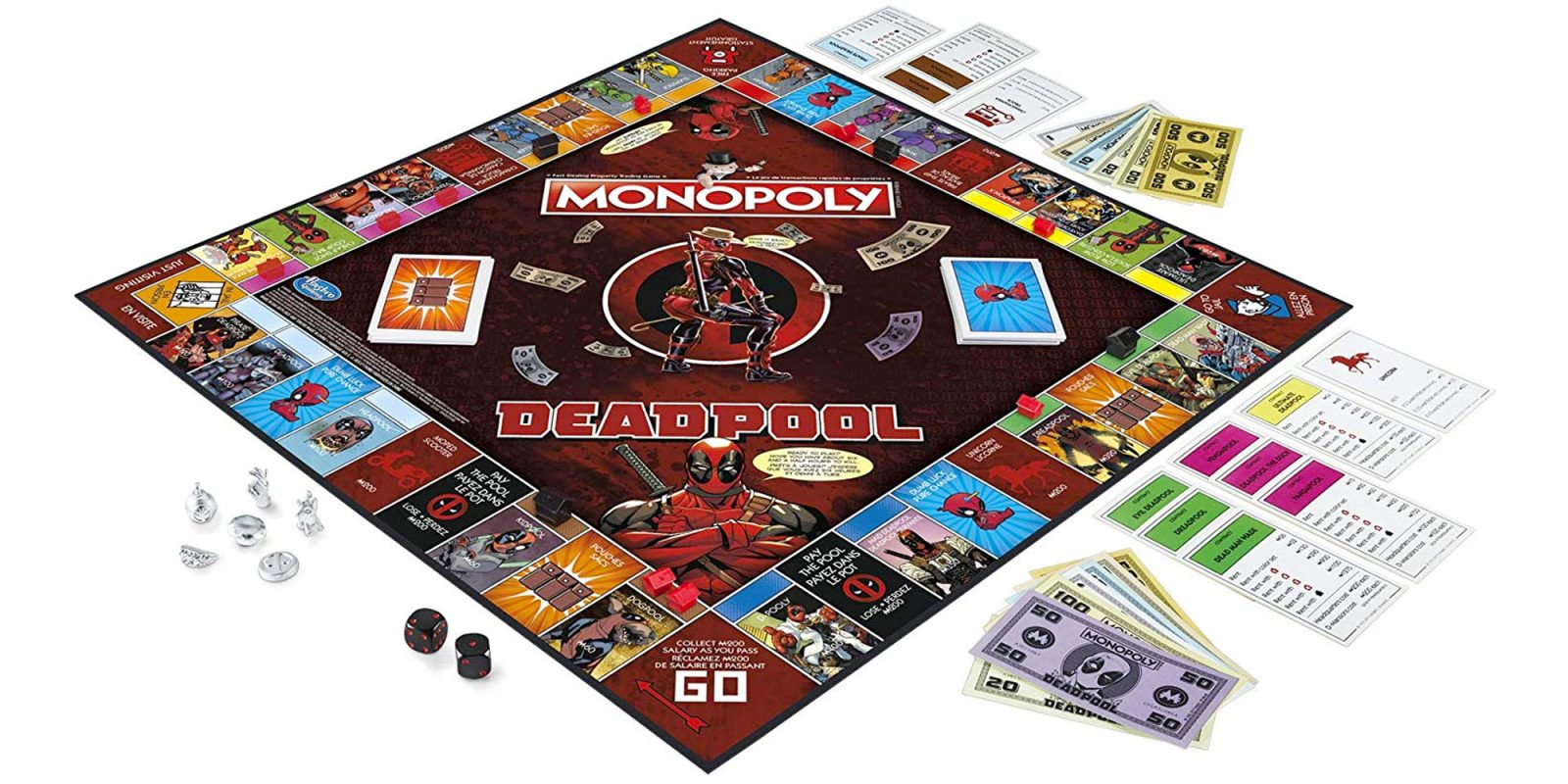 Save big on Monopoly Deadpool, Funko POP!, and more in Amazon's Gold Box