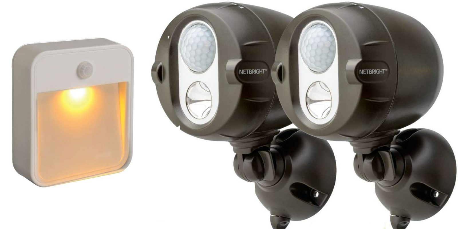 Save big on Mr. Beams LED lights for inside and out from $6 at Amazon