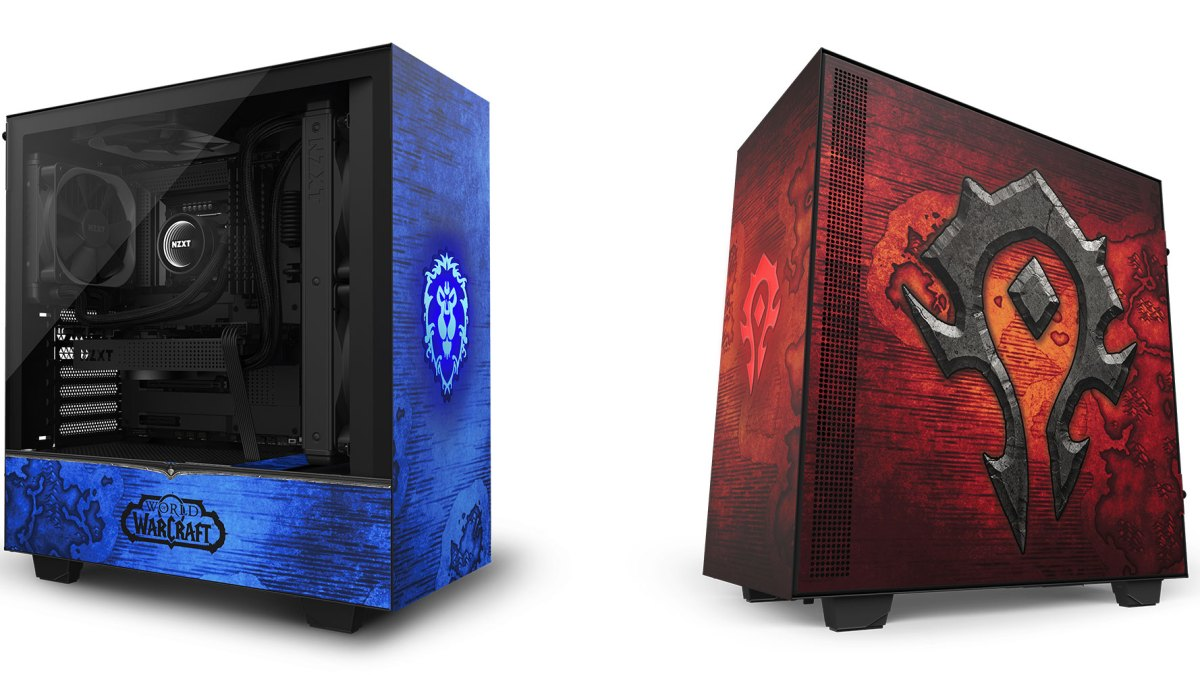 NZXT World of Warcraft case