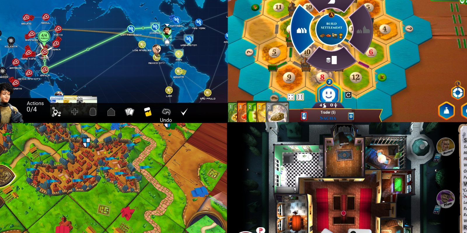 Nintendo Switch board games up to 50% off: Catan, Clue, BATTLESHIP, more