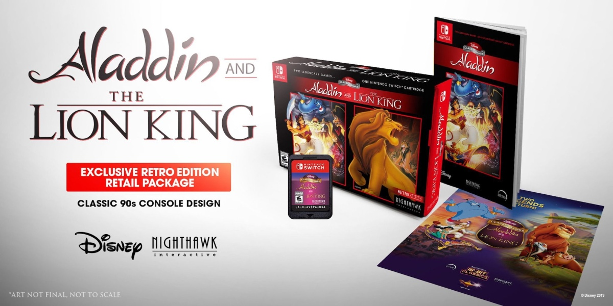 SNES Aladdin and Lion King