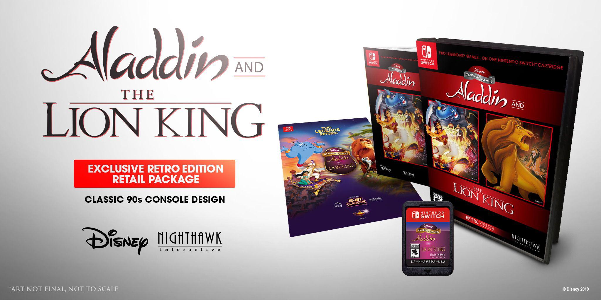 SNES Lion King Aladdin