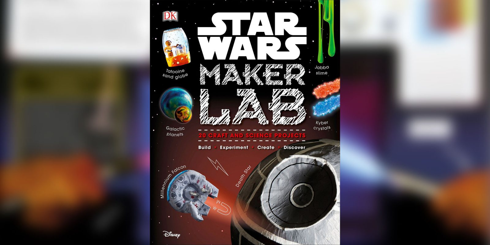 Star Wars Maker Lab has 20 craft and science projects for just $12.50