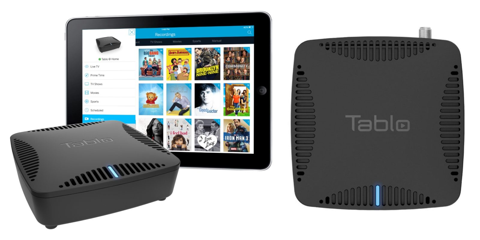 Best Ota Dvr 2020.Tablo Lite Ota Dvr Lets You Watch Or Record Two Shows At
