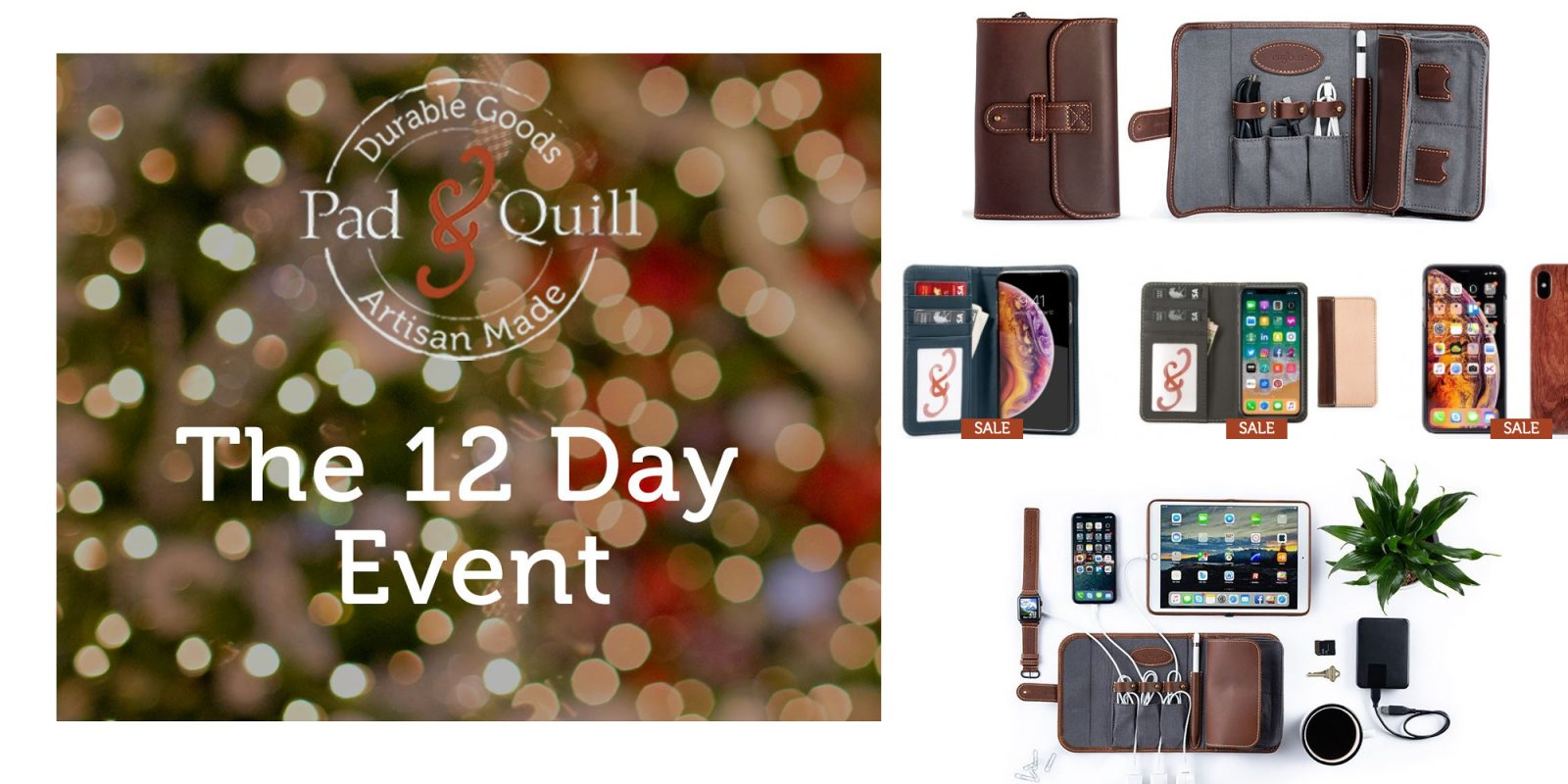 Pad & Quill launches 12-day sales event at up to 70% off with deals from $15