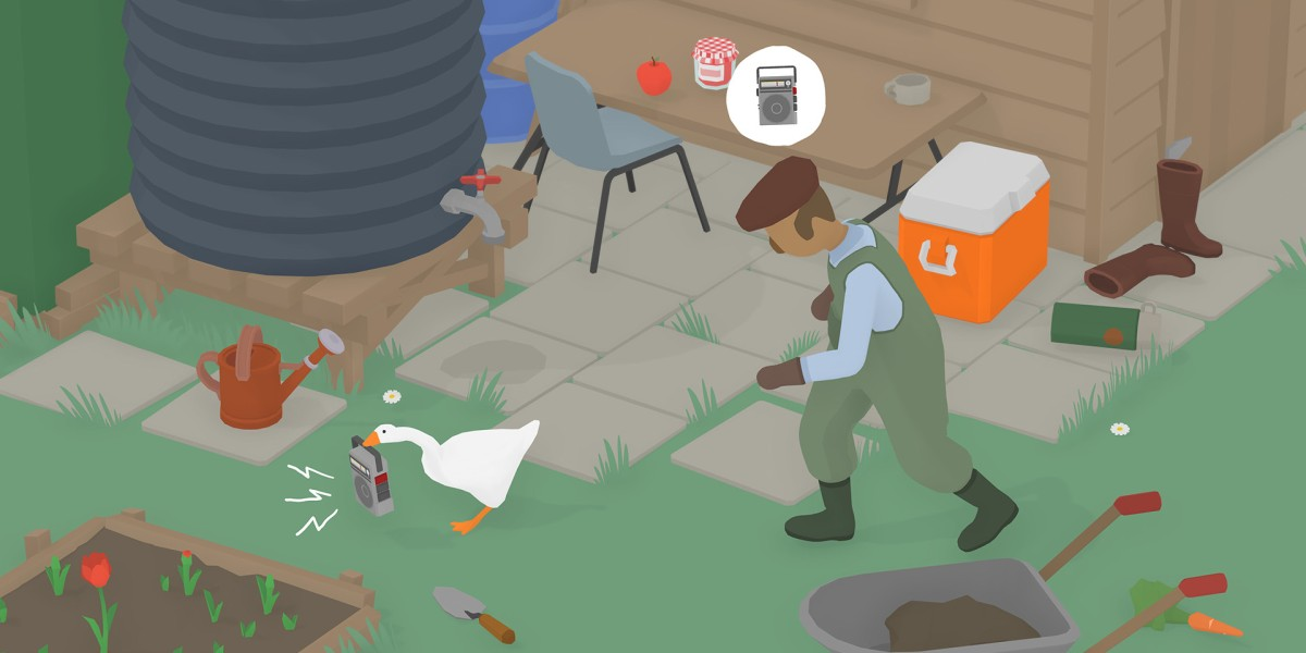 Untitled Goose Game at 25% off