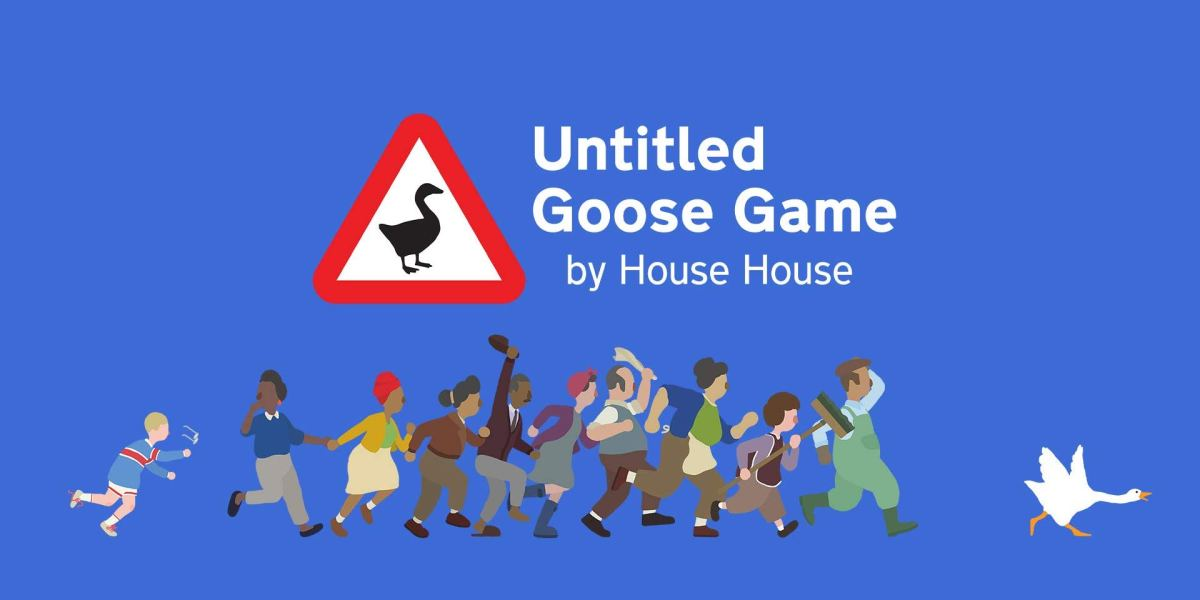 Untitled Goose Game on PS4 and Xbox One
