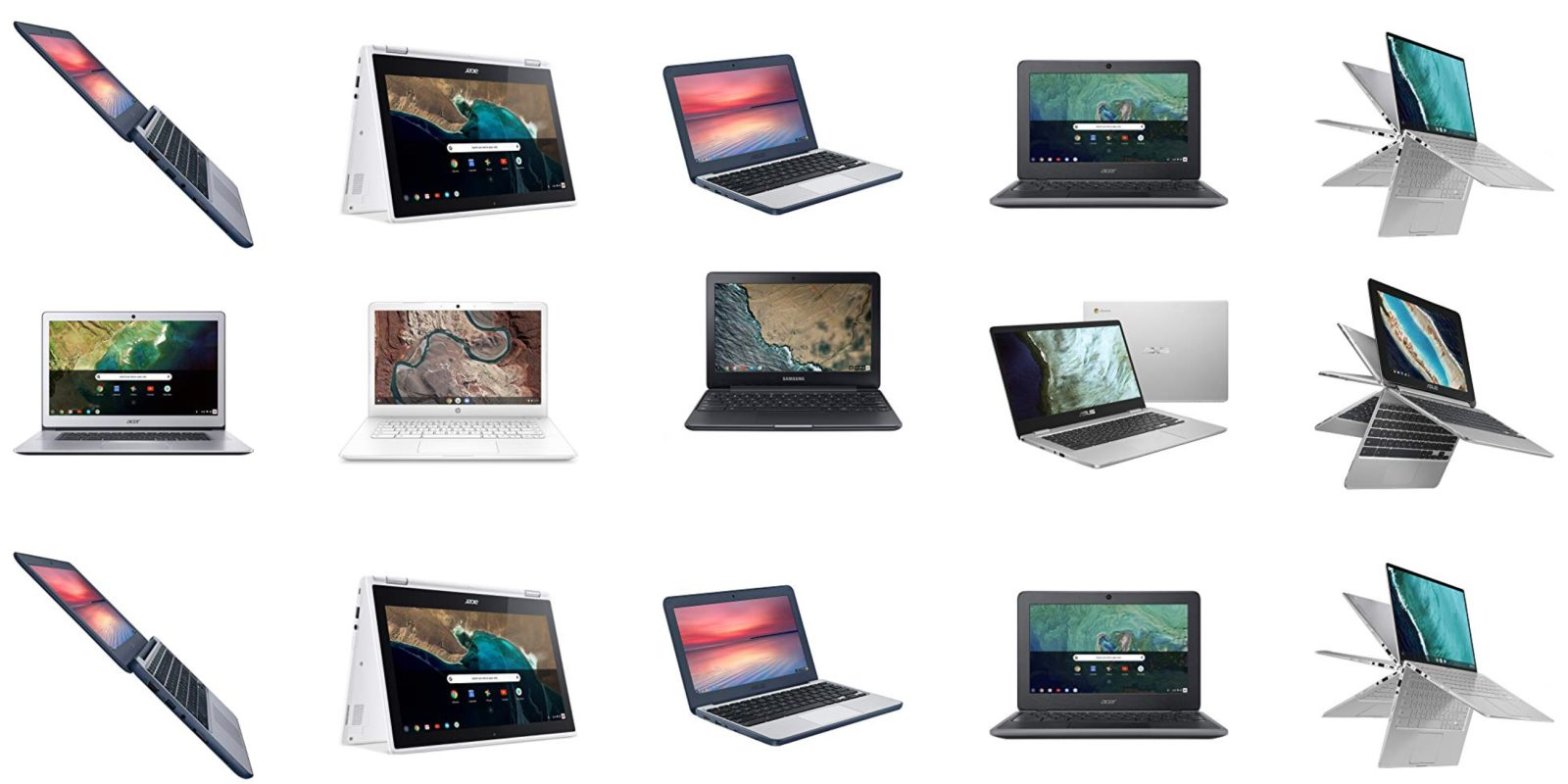Chromebook Cyber Monday Gold Box: HP, Samsung, Asus, Acer starting at $120