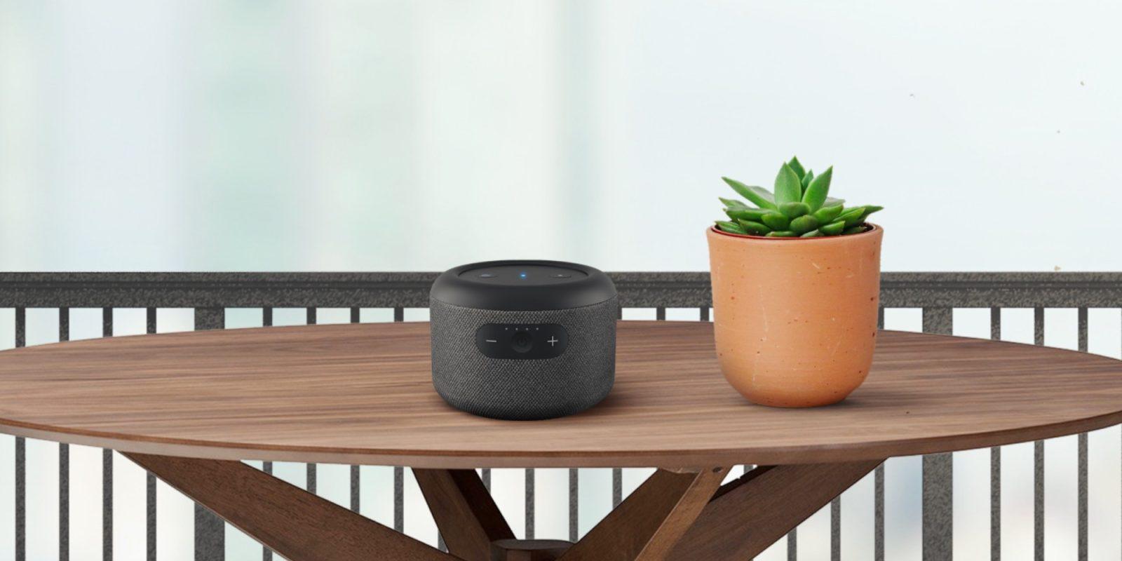 Amazon's latest Alexa-enabled speaker is a spiritual successor to Echo Tap