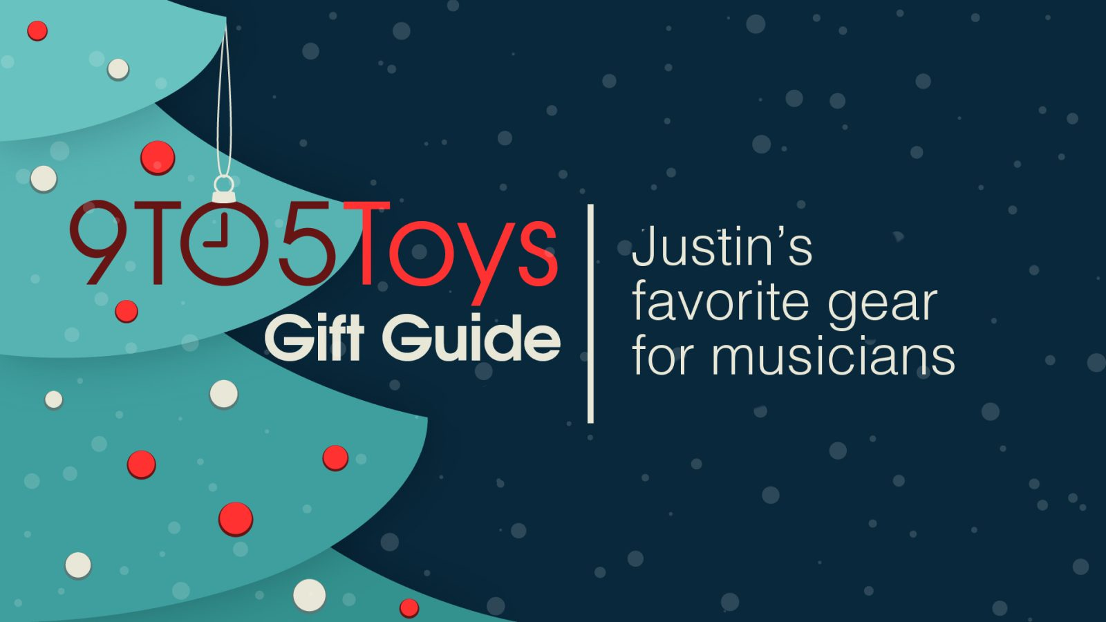 9to5Toys Gift Guide: Justin's favorite gear for musicians
