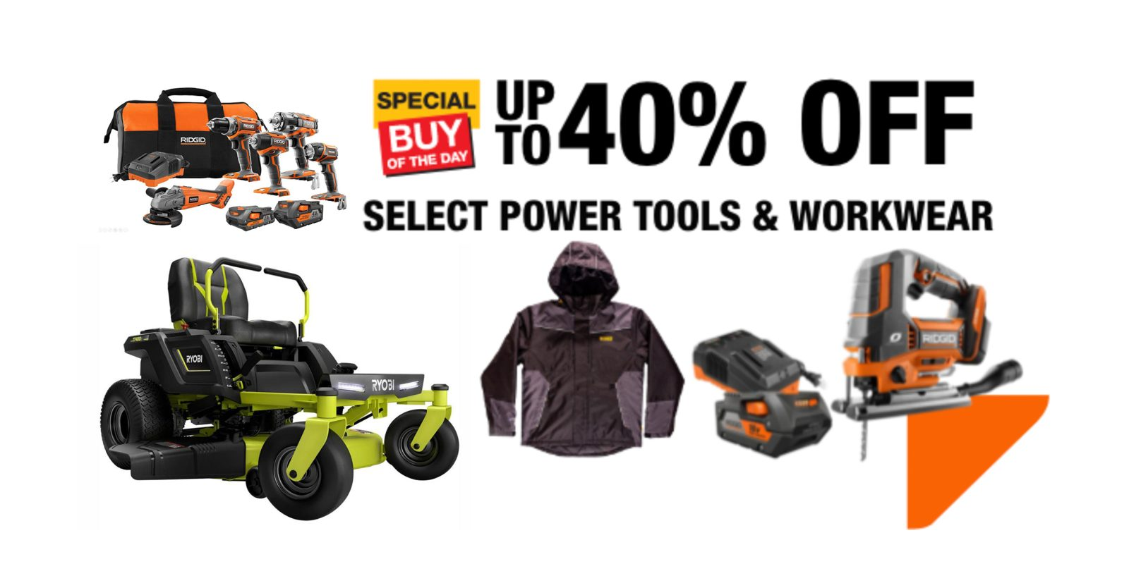 Home Depot's latest sale includes electric outdoor tools, DIY essentials, more