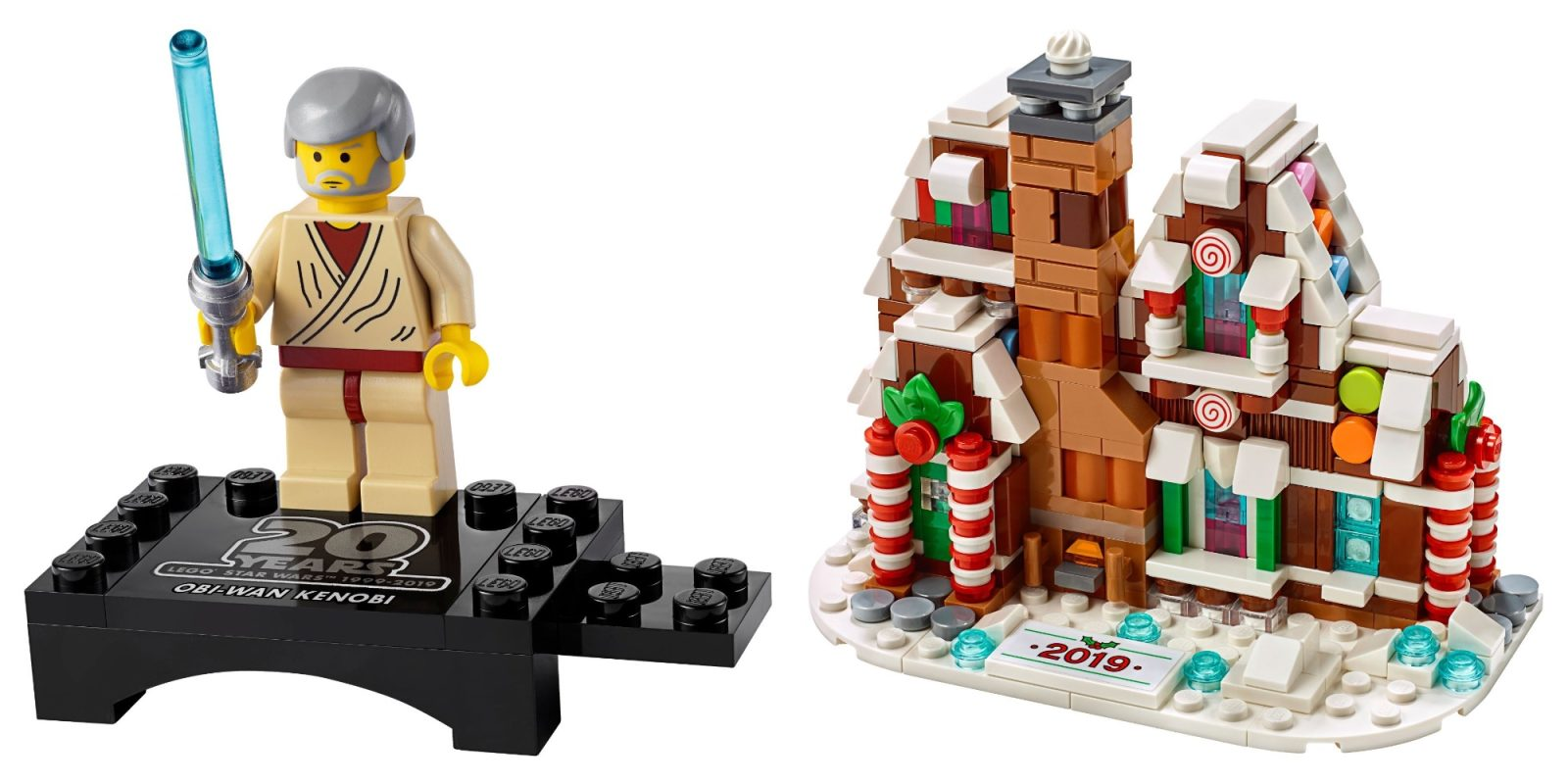 How to score LEGO's new Obi-Wan minifig and gingerbread house for FREE