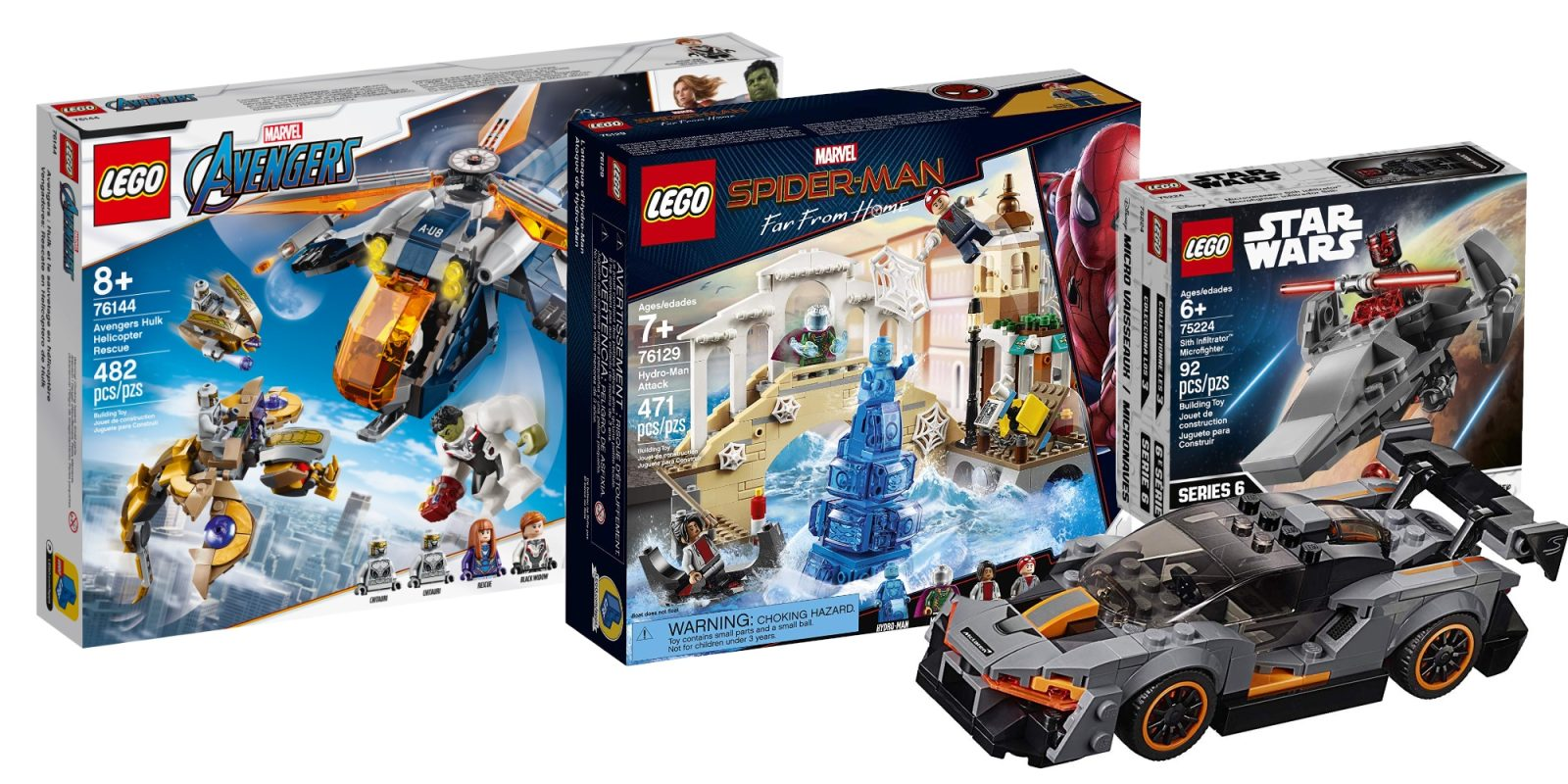 Assemble this 470-piece Spider-Man LEGO set for $21 (Save 35%), more from $5