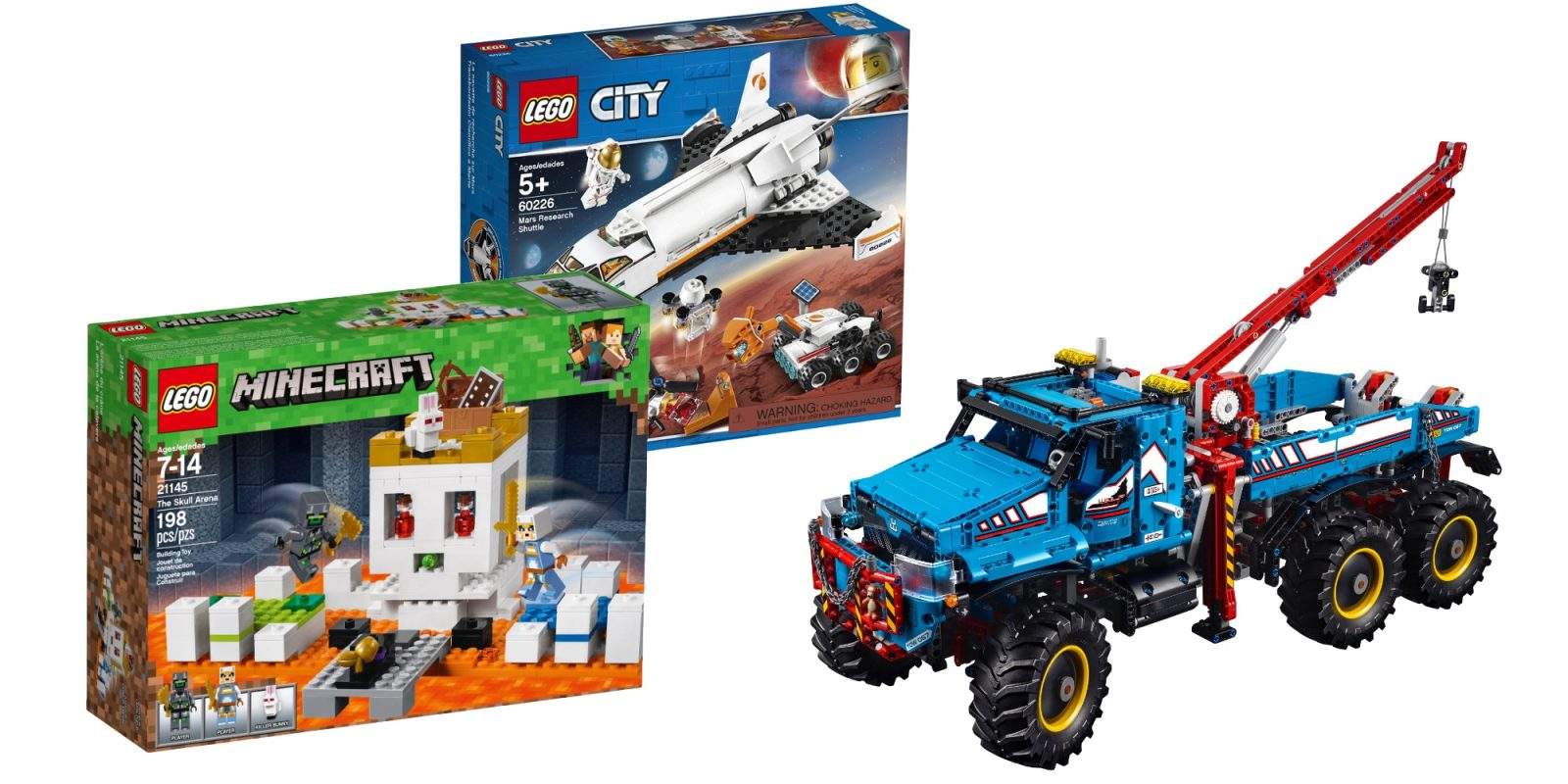 LEGO Technic All Terrain Tow Truck drops to $170 (Save $120), more from $3