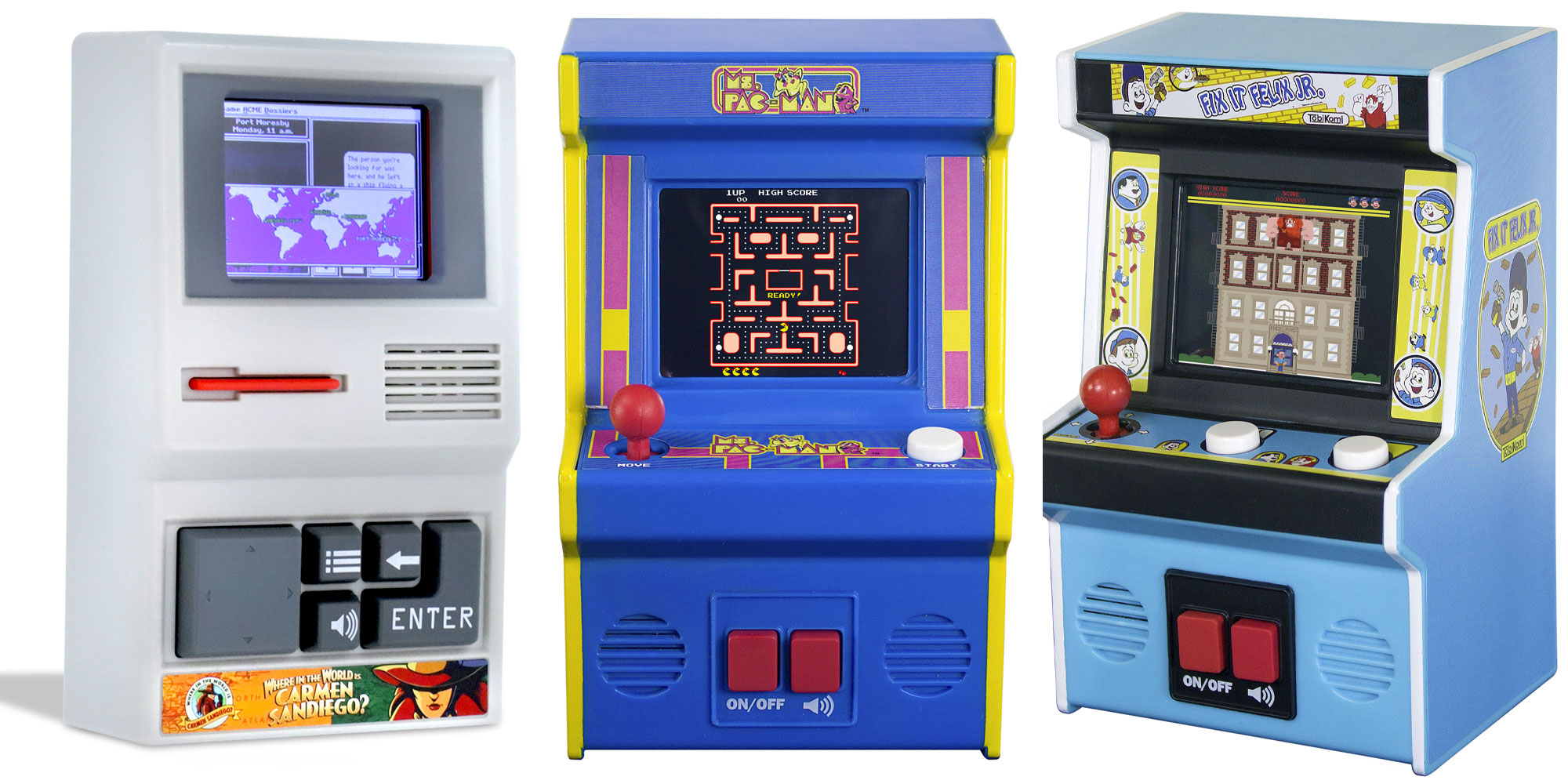 These Mini Arcade Games Provide Hours Of Holiday Cheer From 9 At Walmart 9to5toys