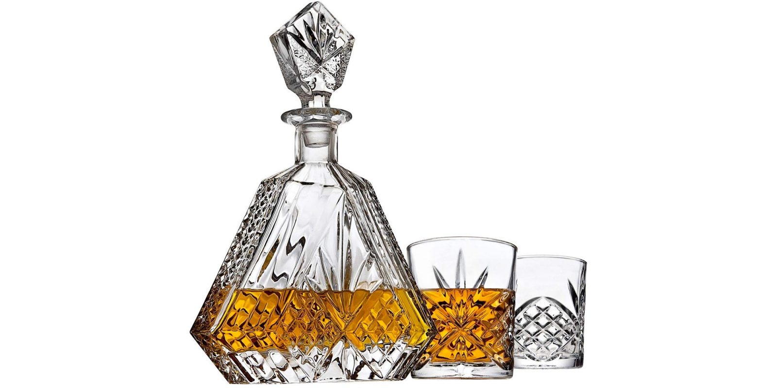 Amazon's Gold Box has whiskey decanter sets and other barware from $9.50
