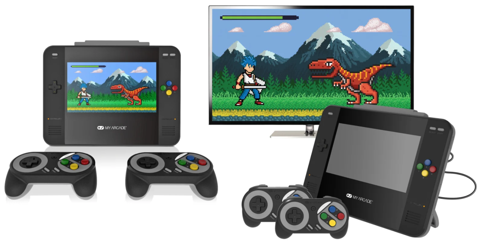 New Super Retro Champ handheld console plays both SNES and SEGA Genesis games