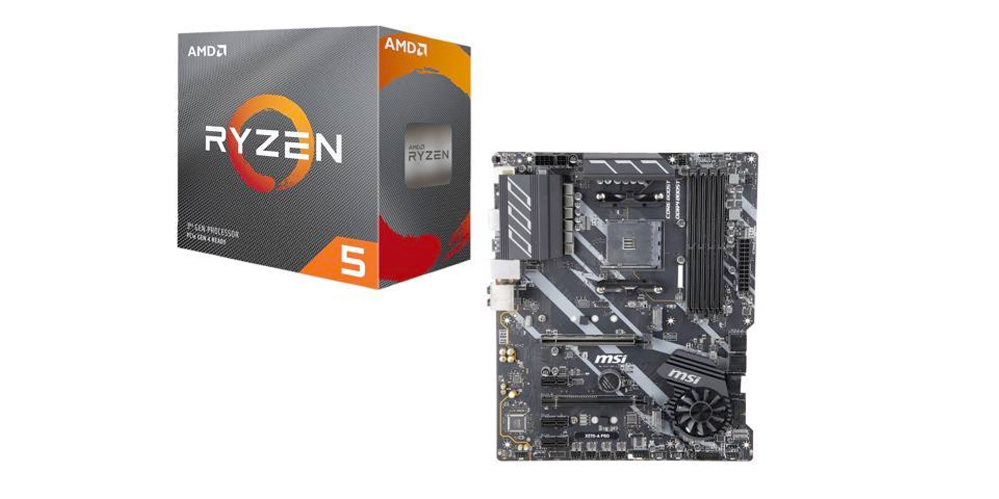Build A Pc With Amd Ryzen 5 Msi X570 Motherboard At 290 9to5toys