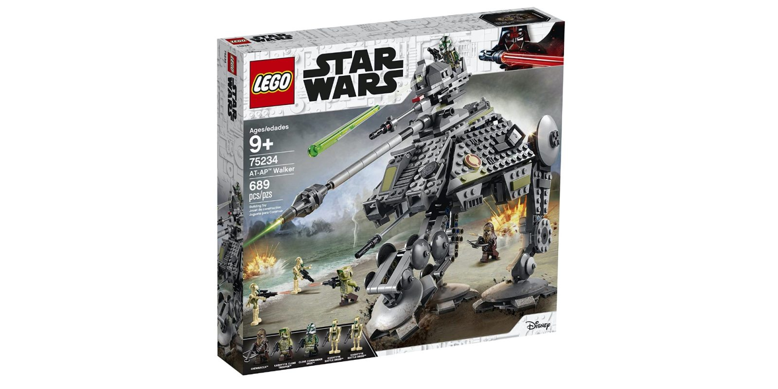Assemble LEGO's Star Wars AT-AP Walker for $49 (Reg. $60), more kits from $11