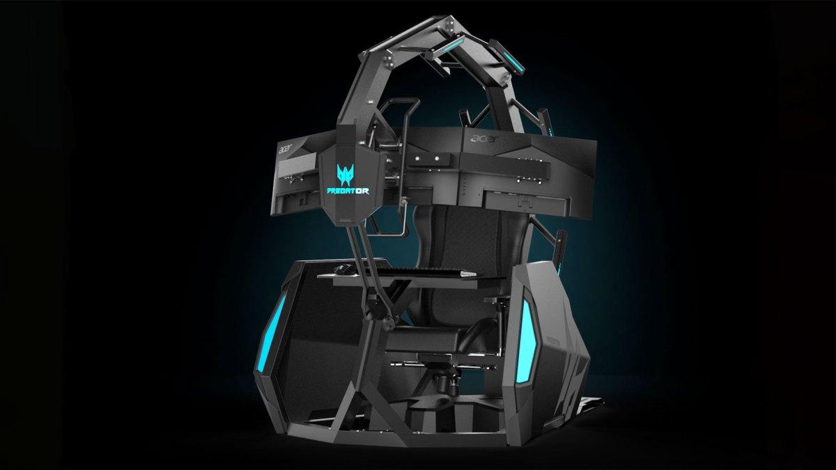 Acer Predator Thronos Air Gaming Chair CES 2020