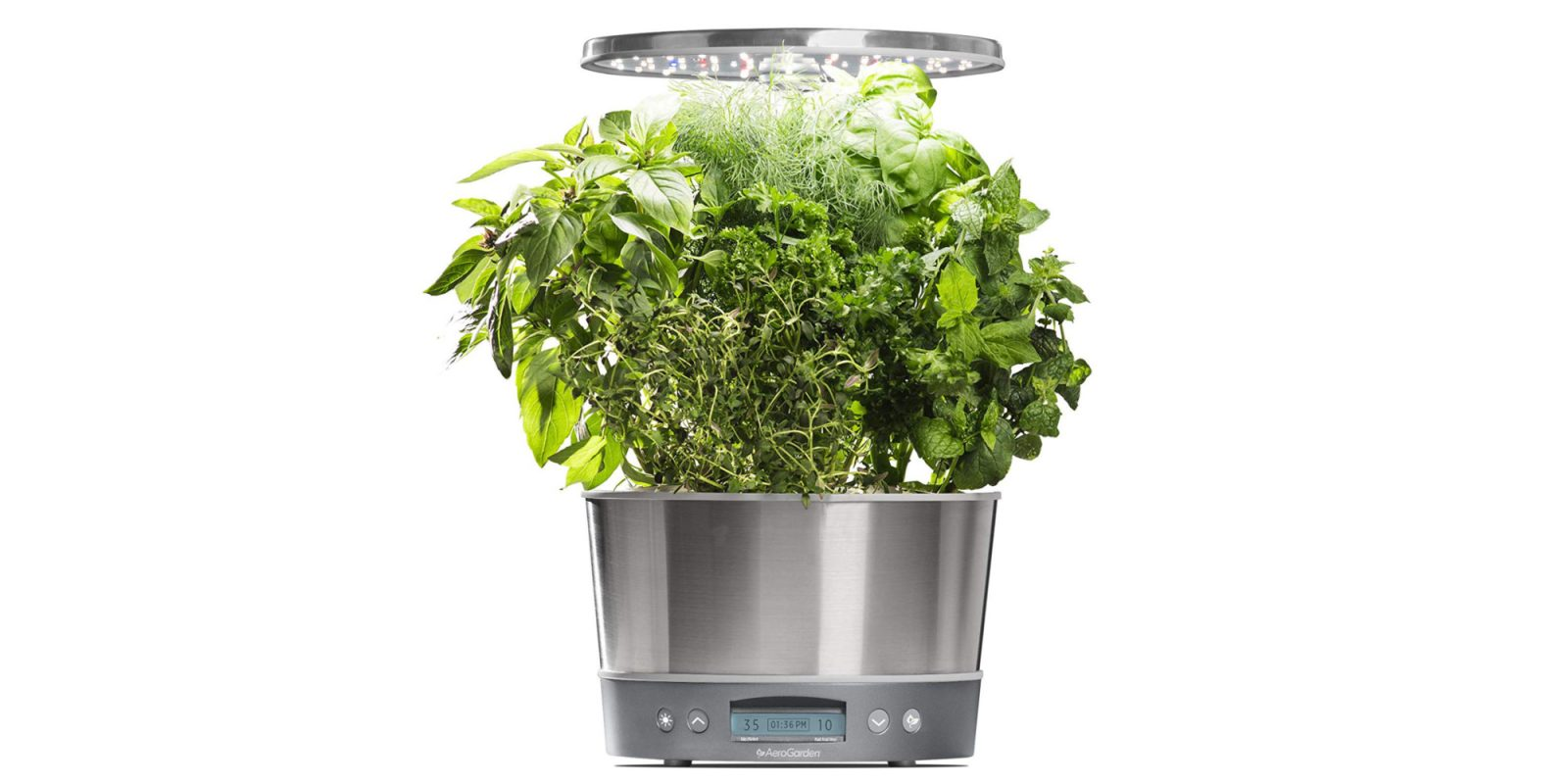 Grow your own herbs inside, AeroGarden Harvest Elite 360 now $80 (Reg. $130+)