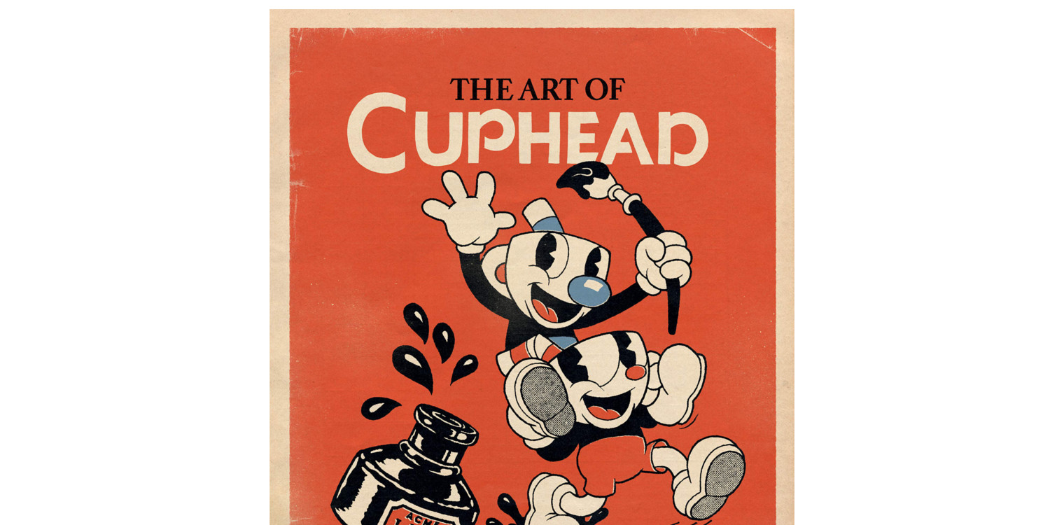 Add the hardcover Art of Cuphead book to your collection
