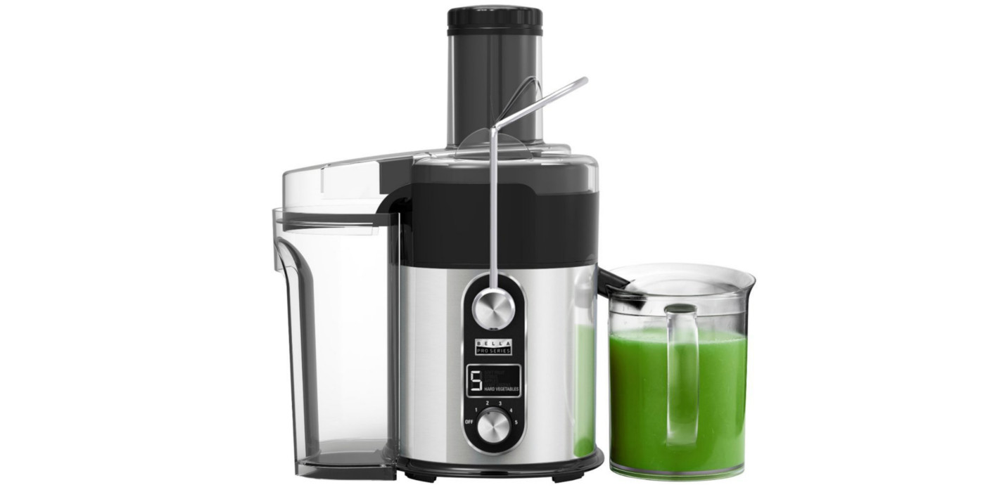Make homemade juice with Bella's Centrifugal Extractor for $60 (Reg. $100)