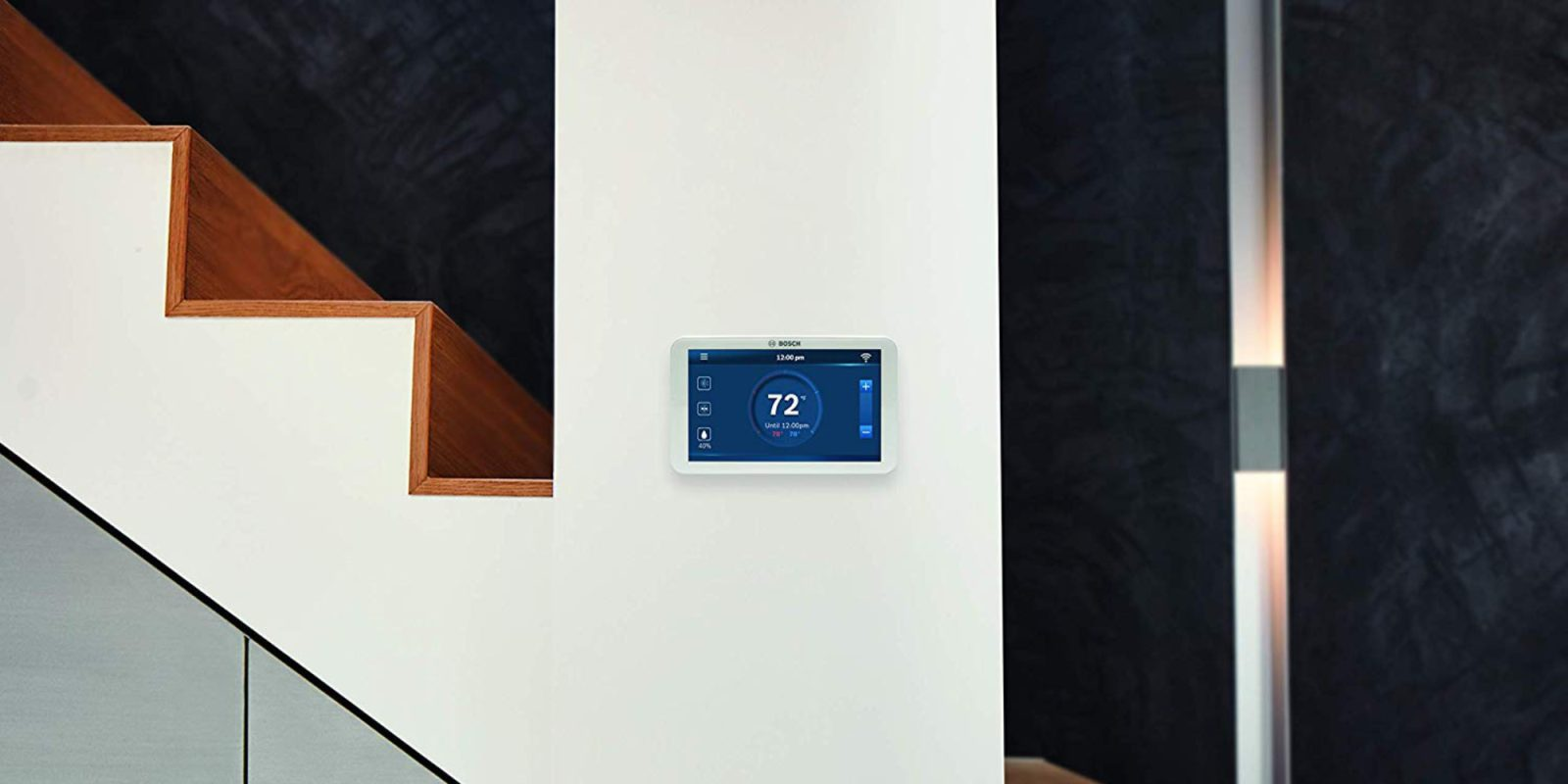 Bosch's Smart Thermostat has a 5-inch screen with minimal bezels, now $124