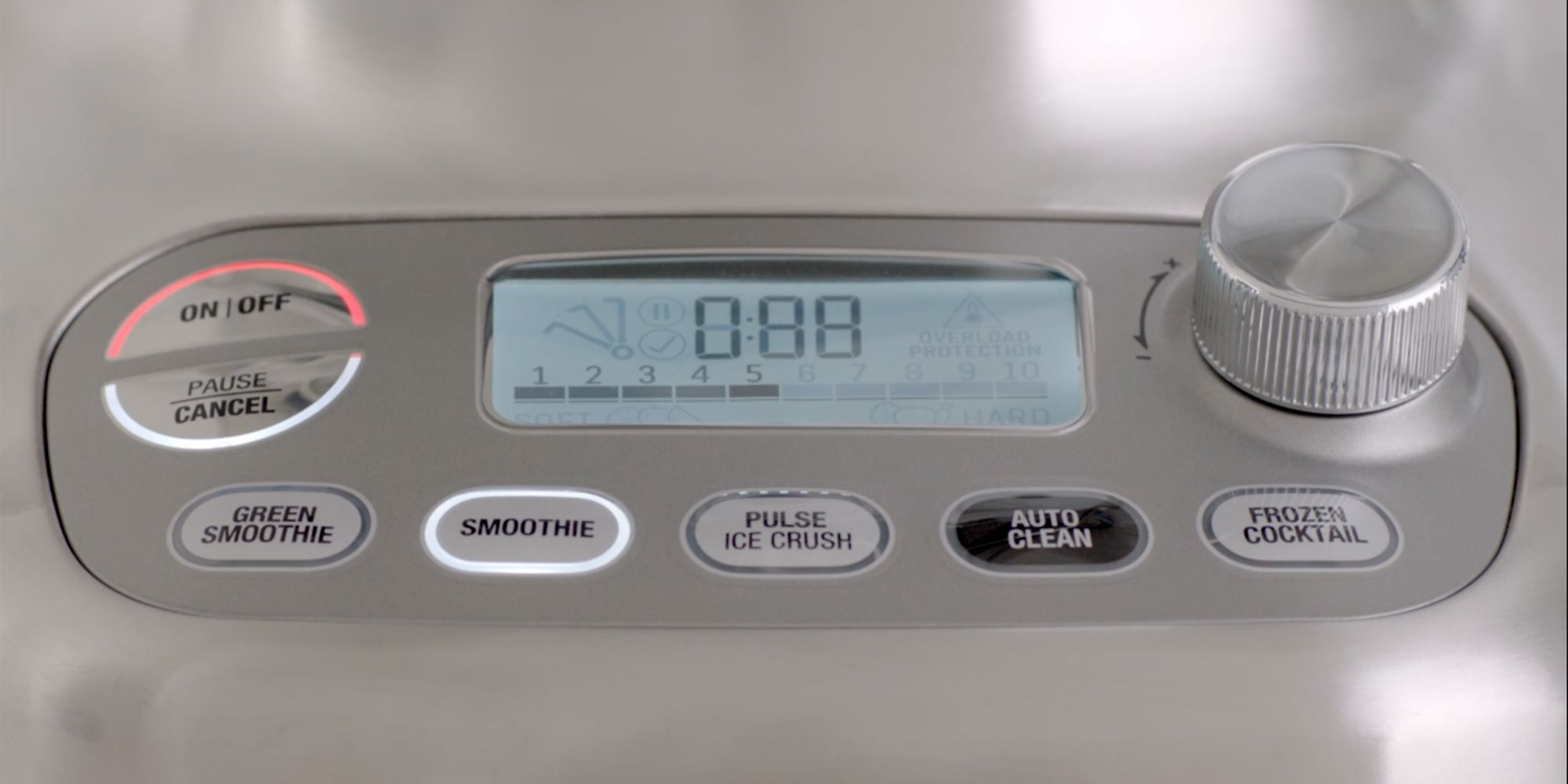 Breville 3X Bluicer Pro Buttons