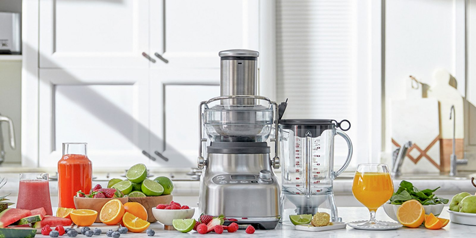 "Breville invents ""bluicing"" category of blending + juicing with 3X Bluicer Pro"
