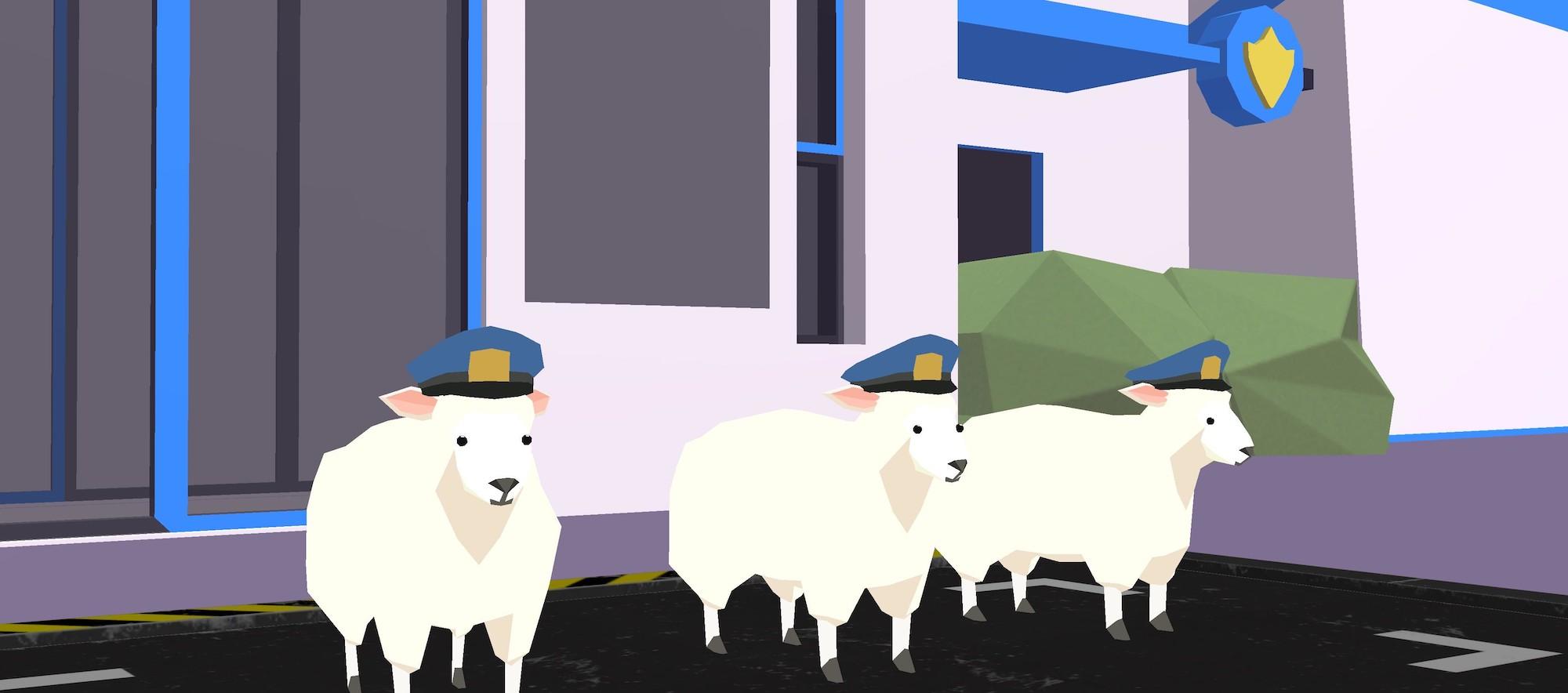Deeeer Simulator Sheep Police