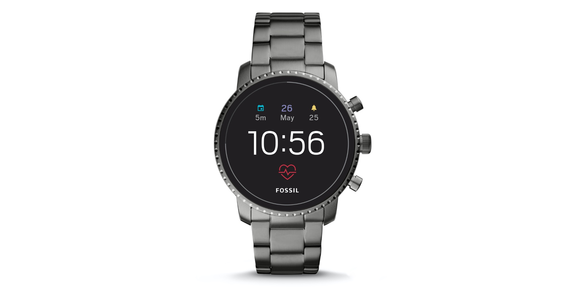 Adorn your wrist with Fossil's $129 stainless steel HR smartwatch (Save $50)